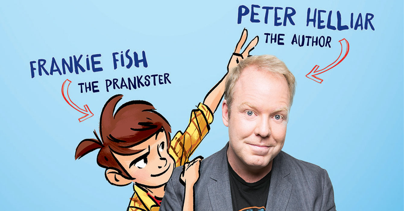 Story Time with Peter Helliar